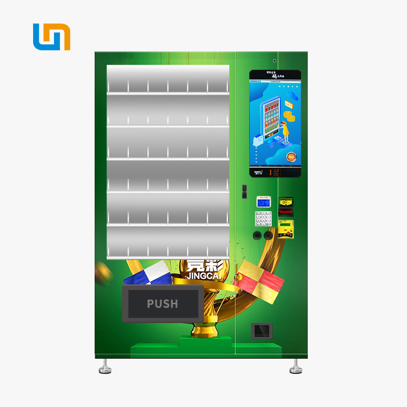 Sports Betting , Lottery Custom Vending Machines With 22'' Touch Screen supplier