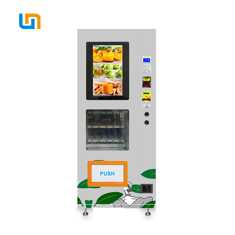 Chewing Gum Small Snack Foods Mini Cashless Vending Machine 125-250 Capacity supplier