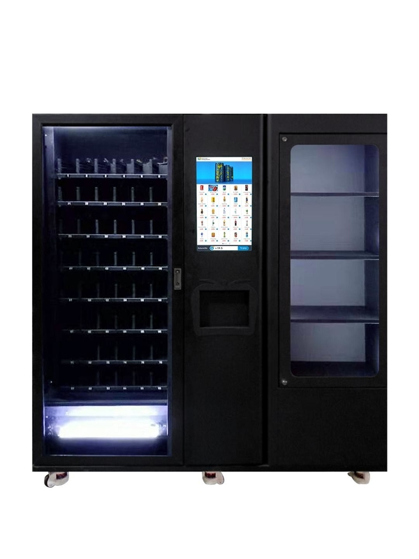 Channel Width Adjustable Vending Machine With 22 Inch Touch Screen