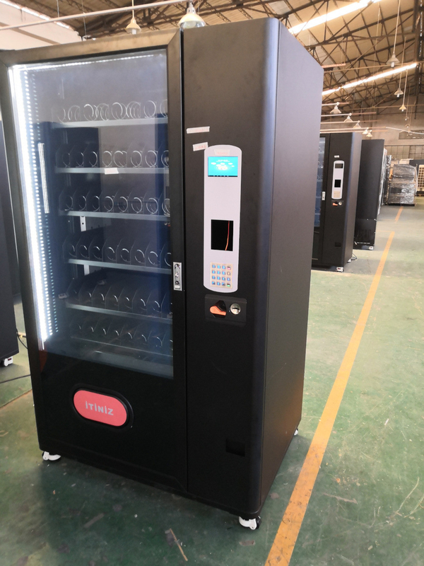 Coin Operated 24 Hours Snack Food Vending Machines for sale With Smart Vending System