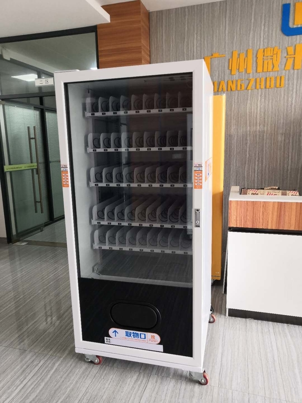 Smart Coin Operated Vending Machine , Energy Saving Food And Drink Vending Machine supplier