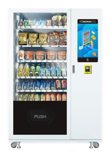 Combo Vending Machine For Soft Drinks  Retail Vending Machine, media vending macine, manufacturer, internet vending